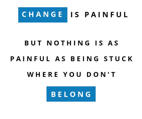 CHANGE, if you are stuck! Don't be afraid! Add Oil~ 💪