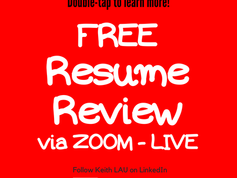 I am looking for #jobseekers and people who might need help with their resumes!