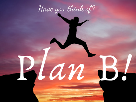 Do you have a Career Plan B??