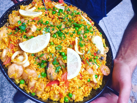 Where does Paella come from and how does it taste so good?