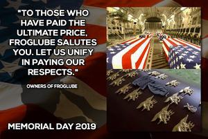 FrogLube Memorial Day 2019