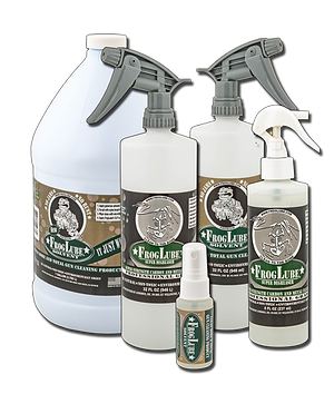 FrogLube Solvent and Super Degreaser, Gun Solvent Gun Cleaner
