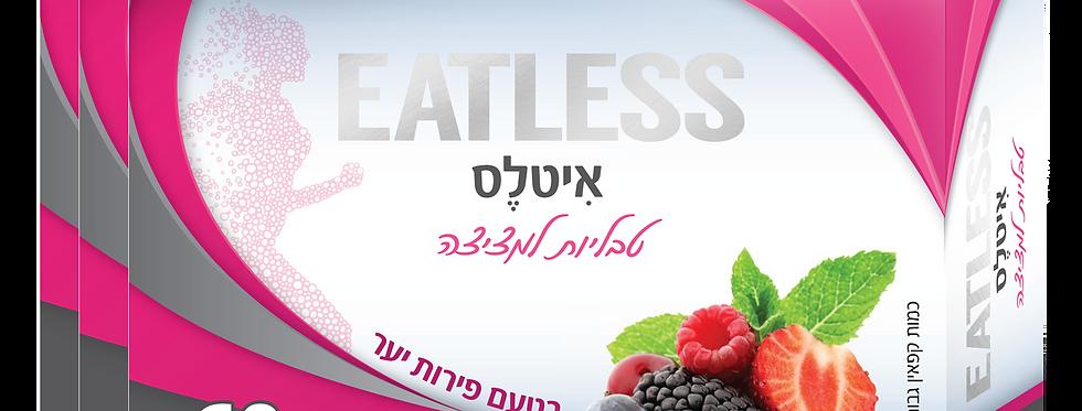 EatLess (פירות יער) שלישייה