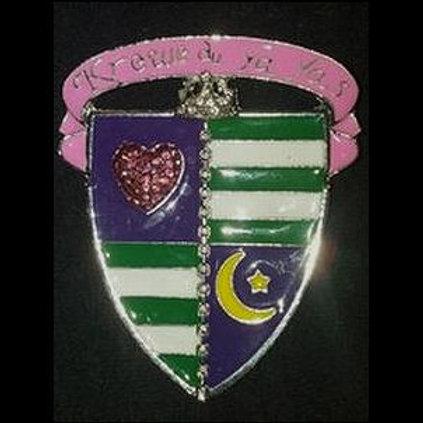 Krewe Crest pin