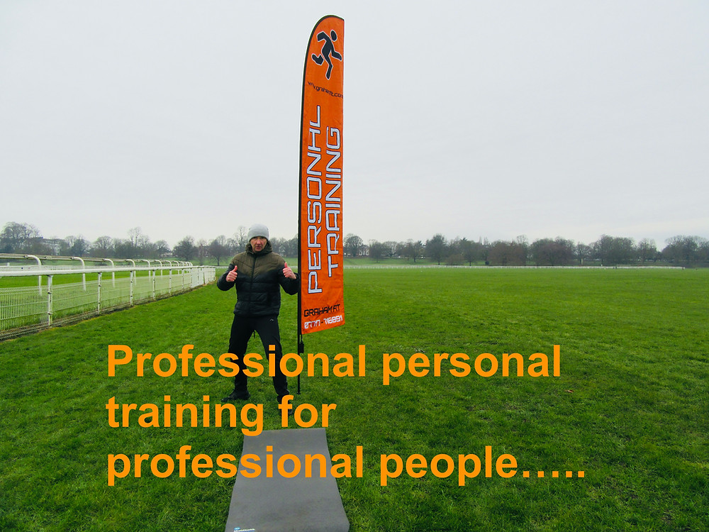 Graham Fit Personal Training teaching outdoors