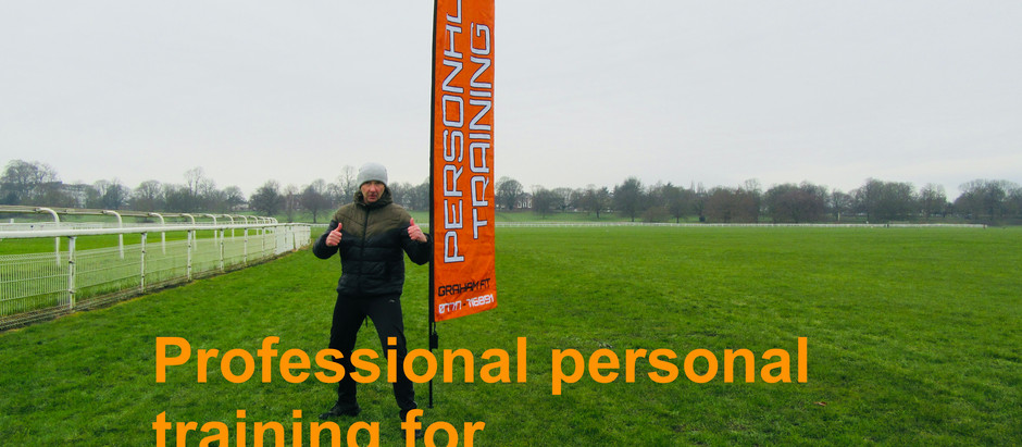 Personal training for the busy professional.....
