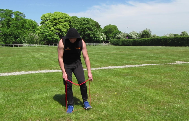 Building biceps, forearm and wrist strength