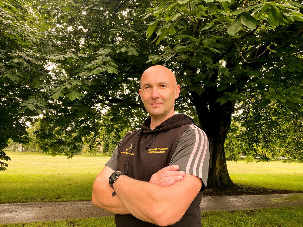 Graham Kavanagh, your personal trainer