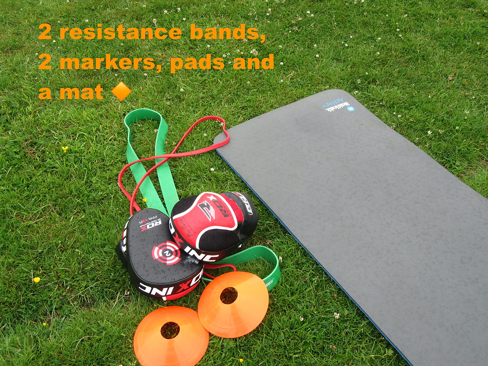 Portable fitness gear at Graham Fit Personal Training