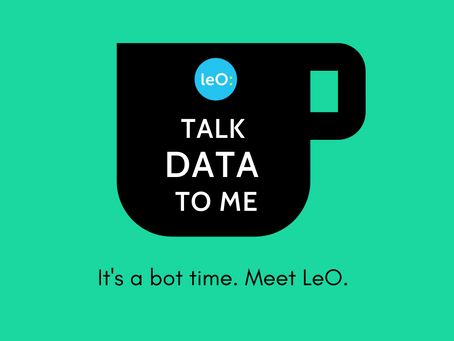 Happy to chat with you, but it's really all about the data…