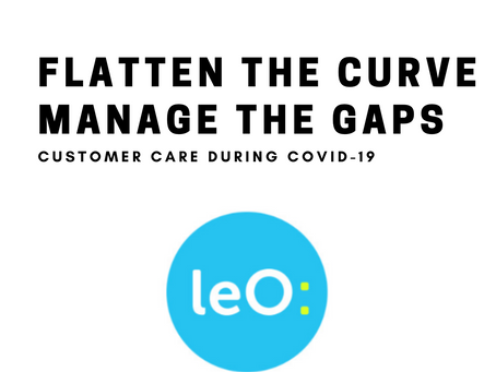 Flatten the curve and manage the gaps