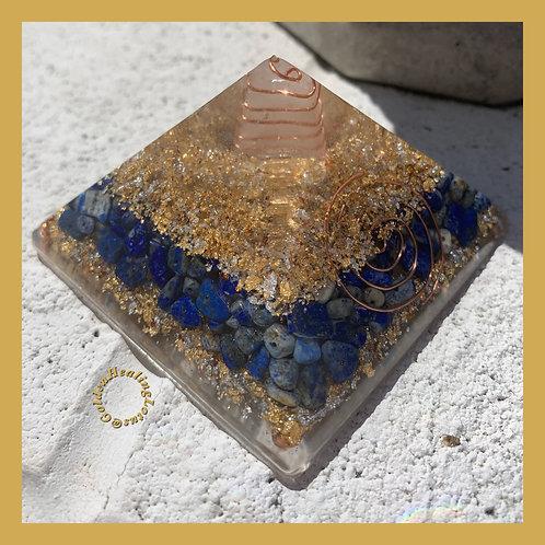 Lapis Lazuli ~ Orgonite Pyramid