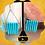 Thumbnail: Turquoise Spike Dangle Earrings