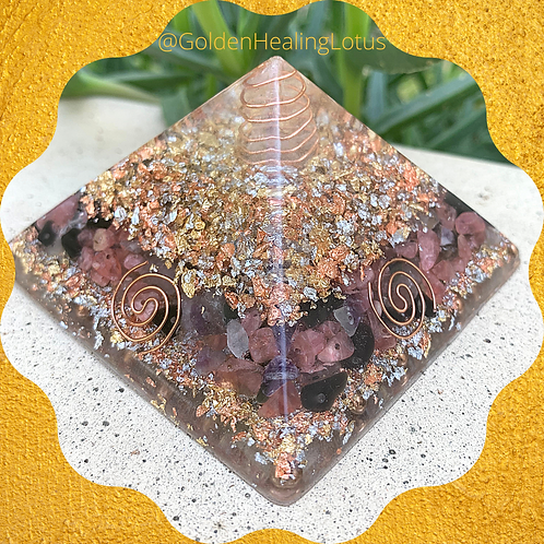 Custom Standard Size Orgonite Pyramid