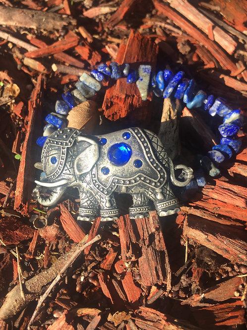 Lapis Lazuli ~ Royalty ~ Crystal Bracelet