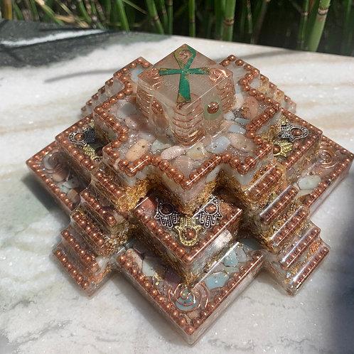 Sacred ~ Mayan Orgonite Pyramid