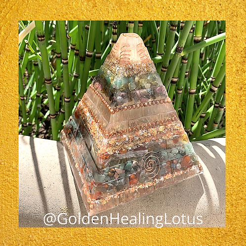 Custom XL Orgonite Pyramid