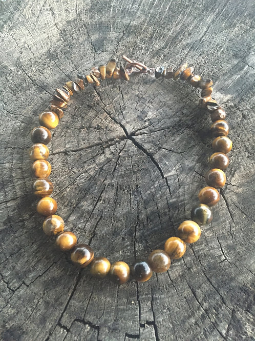 Tigers Eye ~ Grounding ~ Crystal Choker