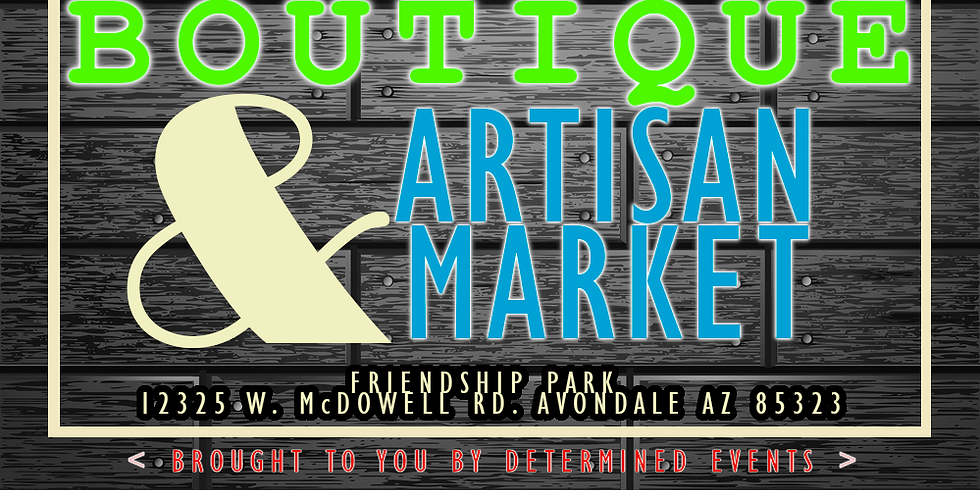 From the Ground Up - Boutique & Artisan Market