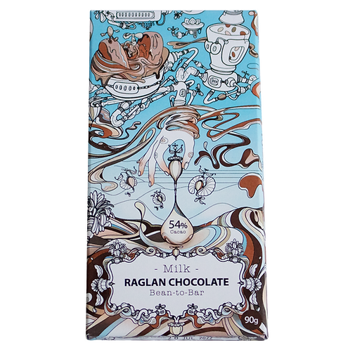 Milk Chocolate 54%.      90g