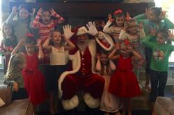 fun photos with Santa