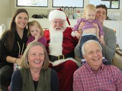 family photos with Santa