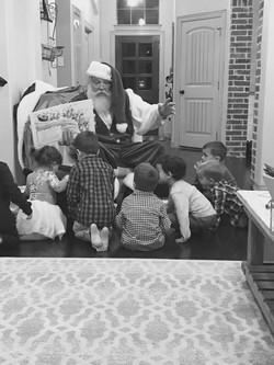 Santa loves parties!