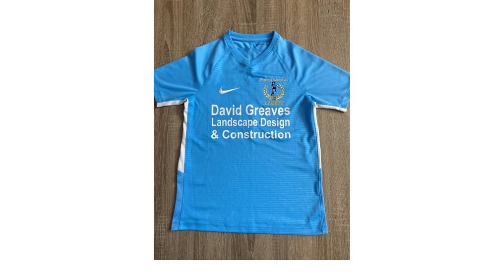 Nike Tiempo Premier Training Shirt - David Greaves Sponsor (without tags - used)