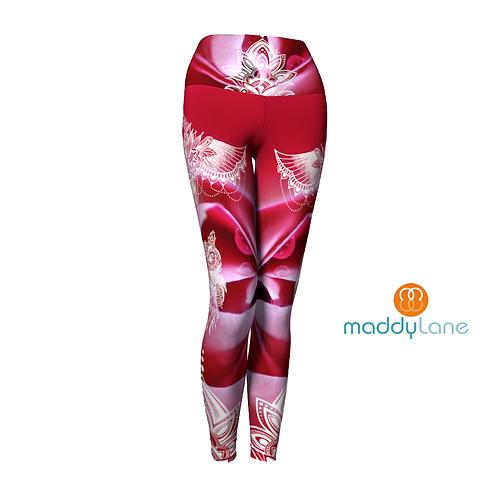 Long Yoga Pants / Aria Hibou Mandala