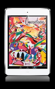 Livro Quarentenas no iPad