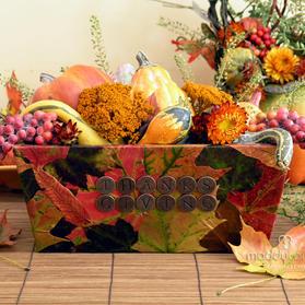 DIY Bountiful Thanksgiving box