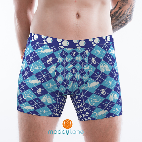 8005 The Scuba Diver / Men's Boxer Briefs