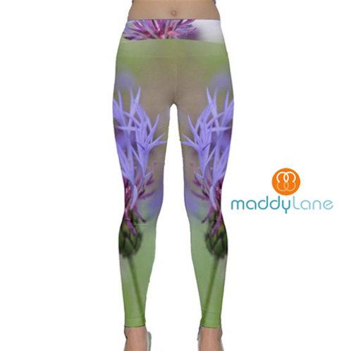 Yoga Pants / PURPLE BLOOM