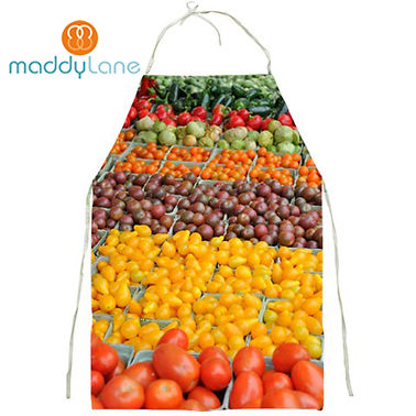 fun apron with pockets designed by Maddylane Designs, Canada