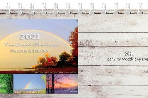 2021 Desk Calendar by Maddylane