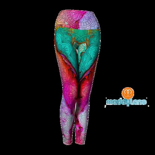 Long Yoga Pants / Joyful