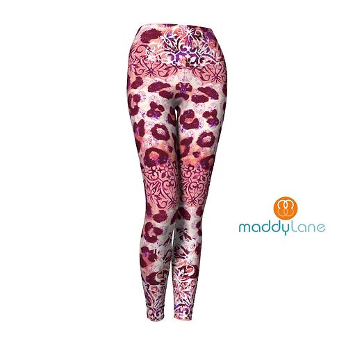 Long Yoga Pants / Panthère rose