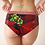 Thumbnail: 5026 Poinsettias / Pretty Panties - Cheeky briefs
