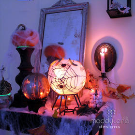 DIY Ghoulish Halloween Decor