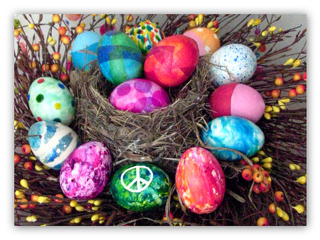 DIY Easter Eggs Over Easy