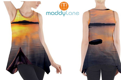 Sleeveless Tank Tunic /SUNSET KAYAK