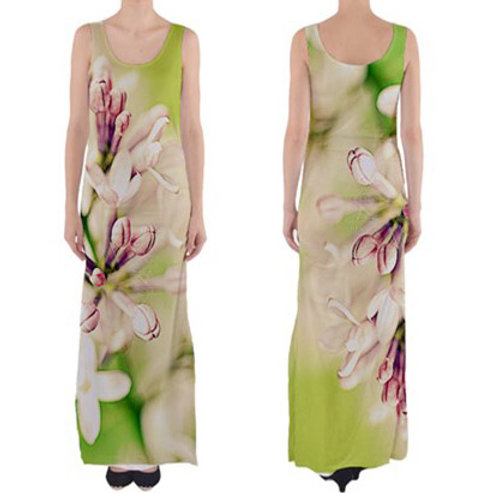 Sleeveless Fitted Long Dress / LILIAC BLOOM