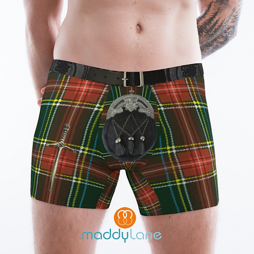 8028 The Scotsman / Men's Boxer Briefs