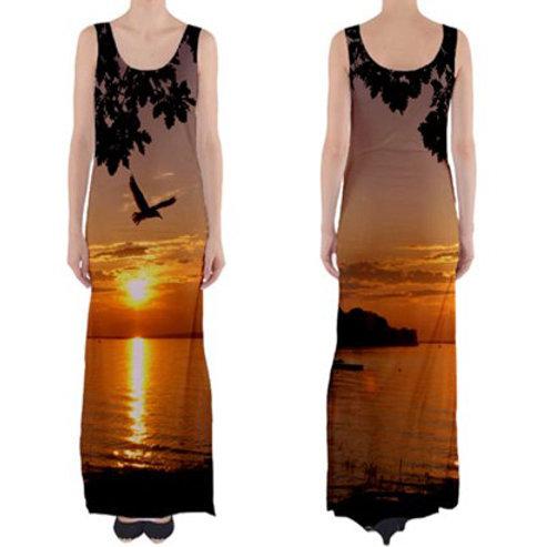 Sleeveless Fitted Long Dress / SPIRIT