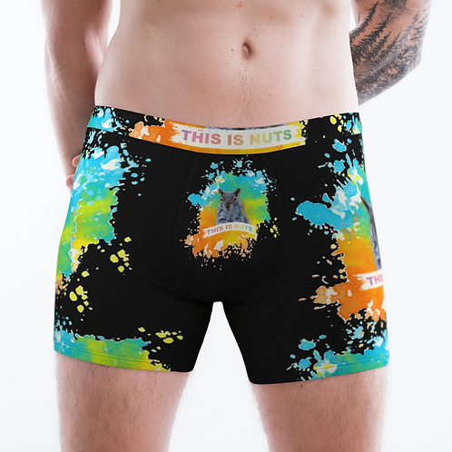8045  This is nuts / Men's Boxer Briefs