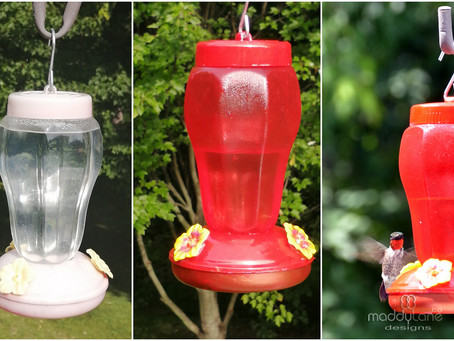 Refurbished Hummingbird Feeder