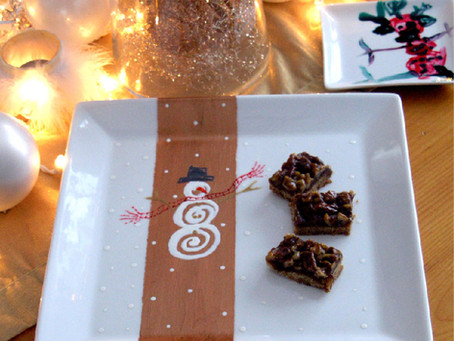 Diy holiday snowman dish gifts