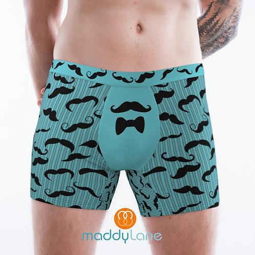 8026 Mr Mustache / Men's Boxer Briefs
