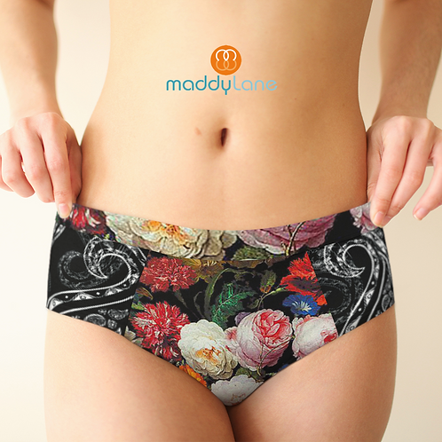 5017 Roses & Paisleys / Pretty Panties - Cheeky briefs
