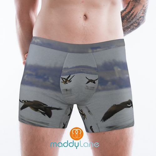 8021 Canadian Geese / Men's Boxer Briefs